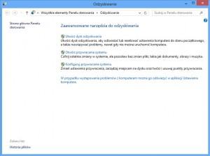 Odzyskiwanie systemu Windows 850