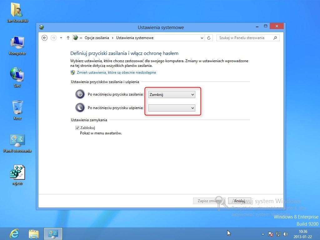 hibernacja Windows 8