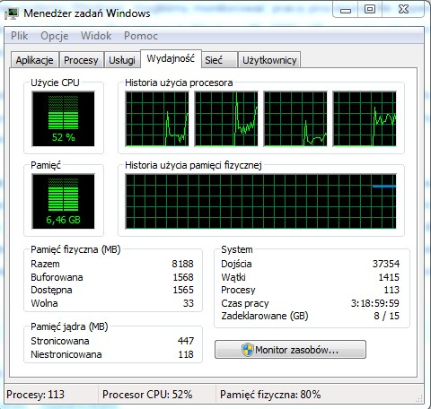 miernik CPU Windows 7
