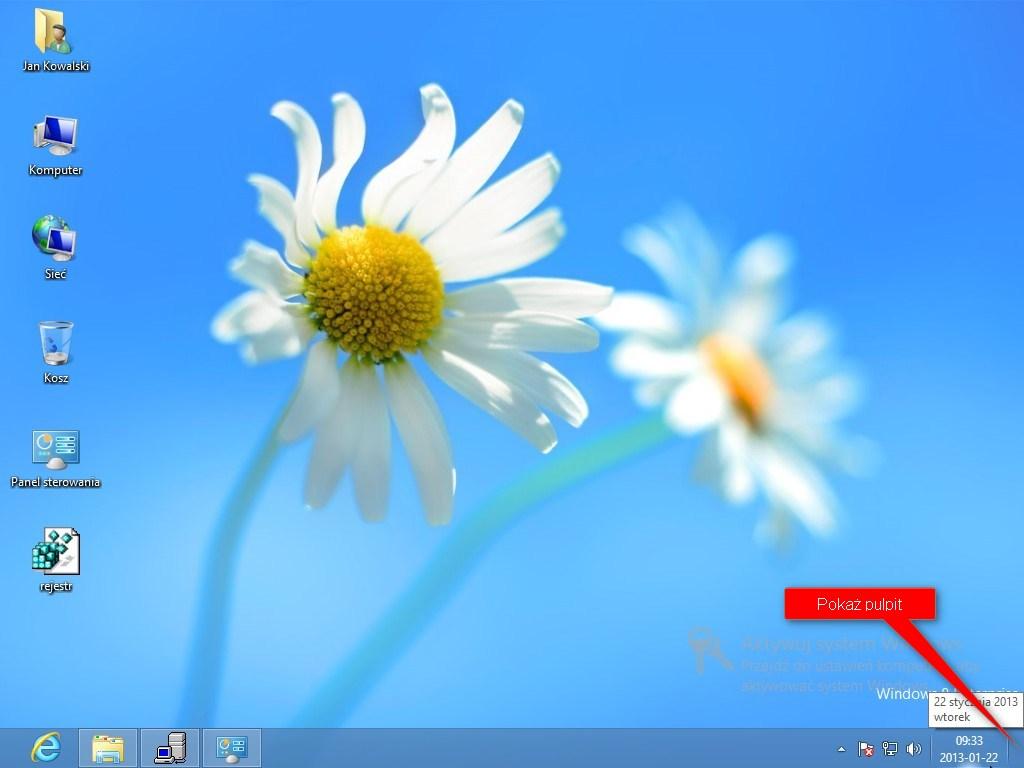 Ikony z Windows 10 w Windows 8 i Windows 7 - download