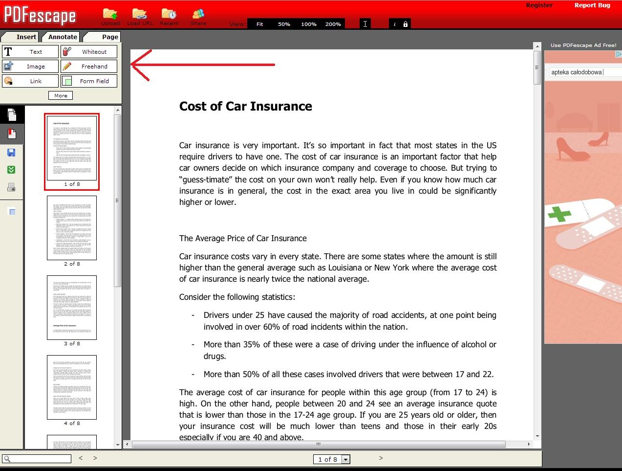 edytowanie dokumentu pdf