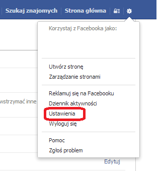 jak usunac fb